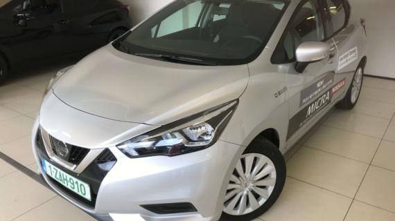 Nissan Micra 1.0 IG-T benzine 100pk acenta €6D-Temp Zilver