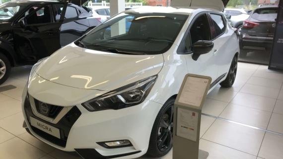 Nissan Micra N-Sport 100pk benzine wit/zwart