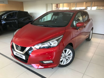 Nissan Micra New N-Connecta 1.0 benzine rood 100 pk