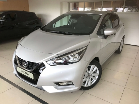 Nissan Micra 1.0 IG-T N-Connecta Xtronic 100pk zilver